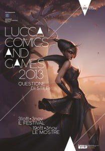 Manifesto lucca comics & games 2013 (Tema: Questione di stile)