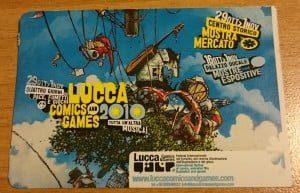biglietti lucca comics 2010