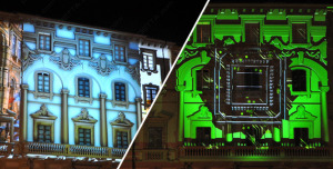 3D-VIDEOMAPPING-at-Lucca-Comics-2014-Proietta5