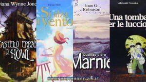 Tutti i romanzi che hanno ispirato lo Studio Ghibli