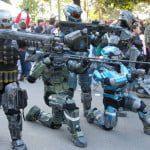set armato cosplay