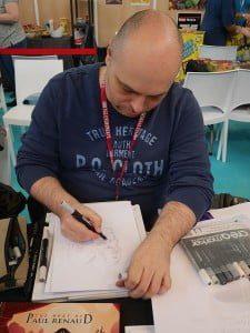 lucca comics Paul Renaud