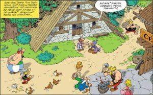 lucca comics Asterix Obelix Il Papiro di Cesare anteprima agosto 2015