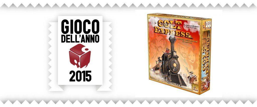 gioco dell'anno 2015 lucca comics Colt Express