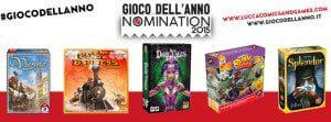 Gioco dell'anno nomination 2015 lucca comics