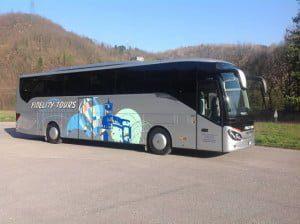Happy Bus lucca comics