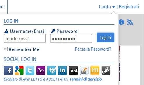 login-registrazione-luccafan