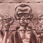 Mostra-lucca-comics-2015-Jan-Karski-Reporter-dal-inferno-Lelio-Bonaccorso-e-Marco-Rizzo
